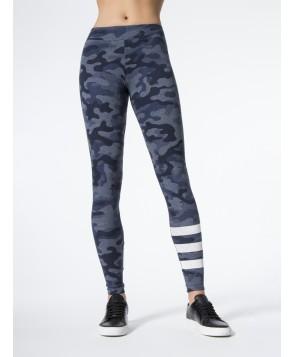 Carbon38 Striped Camo Yoga Pants