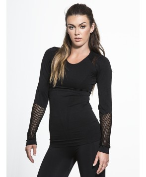 Carbon38 Seamless Long Sleeve Tee