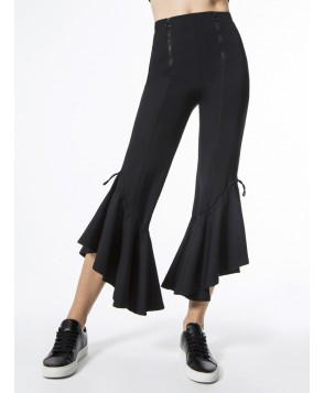 Carbon38 Crop Gathered Flare Pant