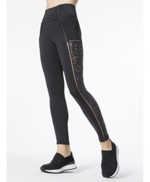 Carbon38 Sheer Seam Lace Legging