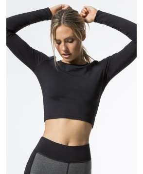 Carbon38 Bolt Crop Top