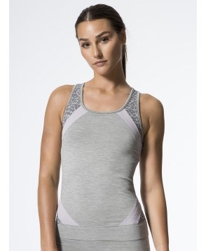 Carbon38 Raphaela Seamless Colorblock Vest