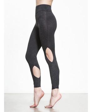 Carbon38 Moss Jersey Halo Crop Legging