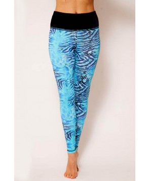Balance Fit Wear Aquamarine Long Legging