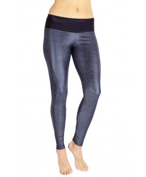 Balance Fit Wear Grey Snake Long Legging