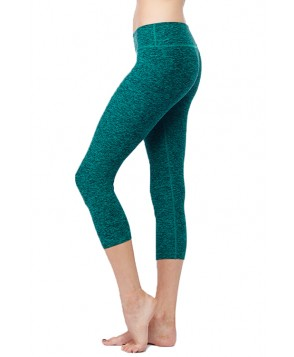 Beyond Yoga Salt & Pepper Stretch Capri