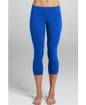Beyond Yoga Brilliant Blue Essential Gathered Legging