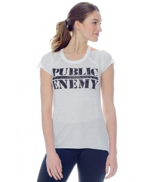 Chaser Public Enemy Short Sleeve Tee