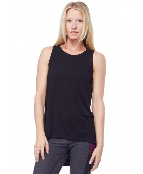Chichi Active Chloe Draped Tank