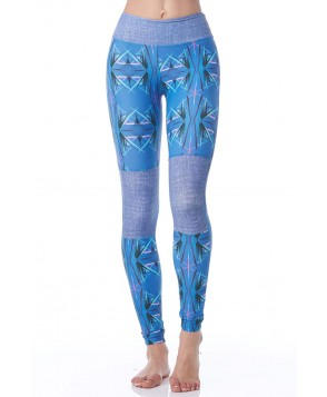 Daughters of Culture Neon Galaxy Soul Patch Legging