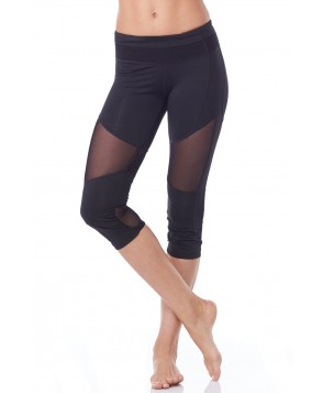 Electric Yoga Cool Up In Mesh Capri