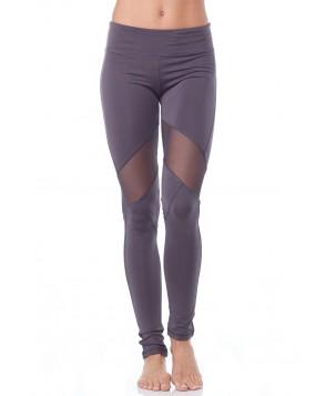 Electric Yoga Knee V-Line Mesh Legging