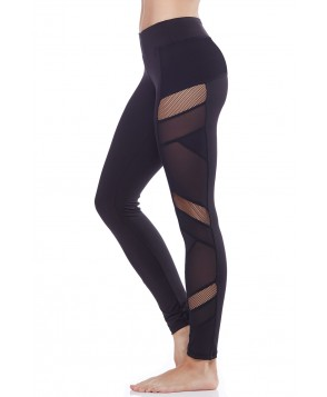 Electric Yoga Sexy Mesh Panel Legging