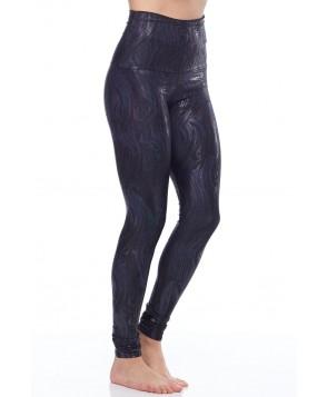 Emily Hsu Black Lacquer Legging