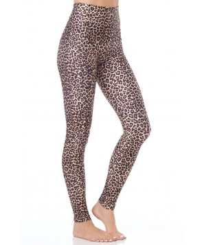 Emily Hsu Leopard Long Legging