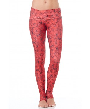Emily Hsu Red Roses Long Legging