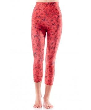 Emily Hsu Red Roses Capri