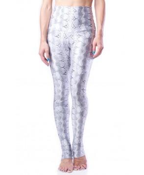 Emily Hsu Designs White Python Legging
