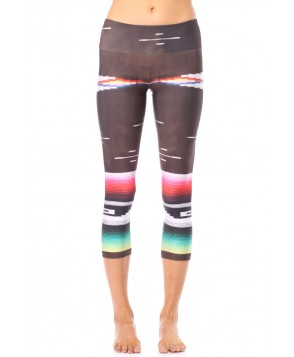 Goldsheep Serape Capri Legging