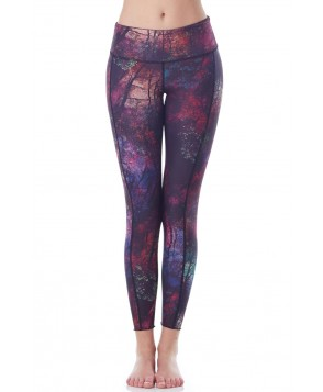 Hottie Yoga Wear Reversible Enchanted Forest Quench Legging