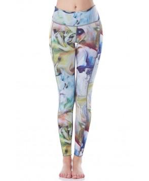 Hottie Yoga Wear Reversible Smoke & Mirrors Quench Legging