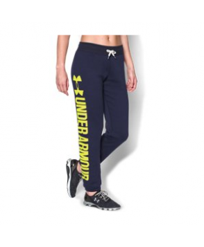 Under Armour Women's  Favorite Fleece Word Mark Boyfriend Pants