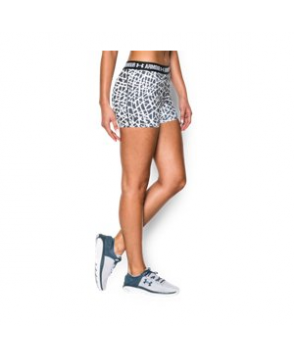 "Under Armour Women's  HeatGear Armour Printed 3"" Shorty"