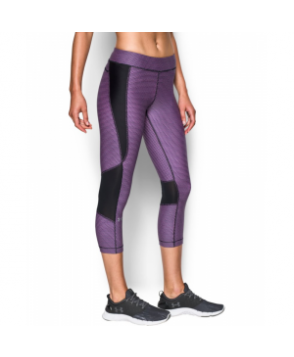 Under Armour Women's  HeatGear Armour Printed Crop