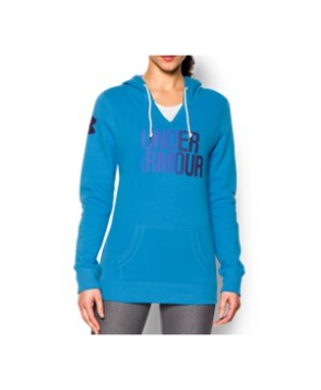 Under Armour Women's  Cotton Fleece Wordmark Hoodie
