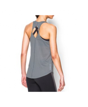 Under Armour Women's  Fly-By Printed 2.0 Tank