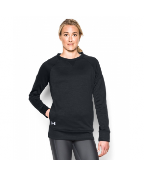 Under Armour Women's  Armour Fleece Textured Long Sleeve Crew