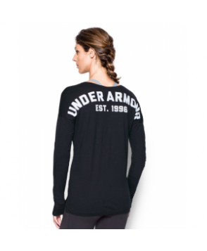 Under Armour Women's  Favorite Word Mark Long Sleeve