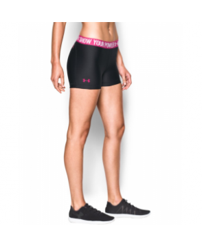Under Armour Women's  Power In Pink HeatGear Armour Shorty