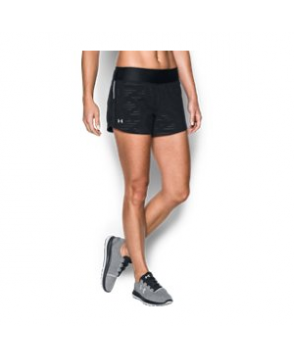 Under Armour Women's  Run True Printed Shorts