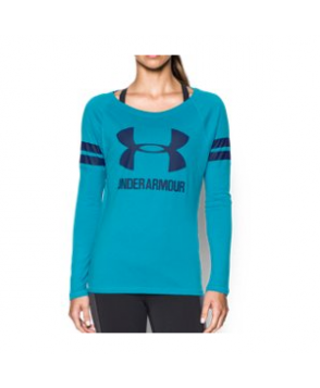 Under Armour Women's  Stripe Sportstyle Long Sleeve