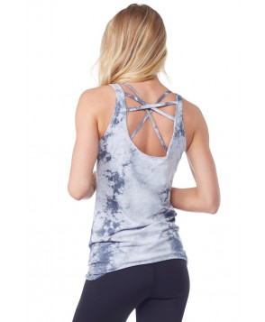 LVR Crystal Wash Cross Back Tank