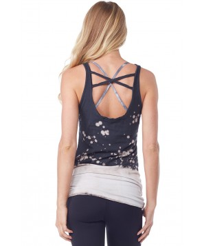 LVR Frost Splatter Cross Back Tank