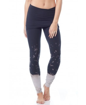 LVR Organic Frost Splatter Fold Over Legging