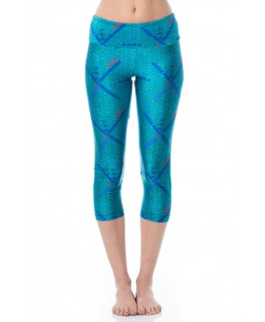 Goldsheep PDX Carpet Capri Legging