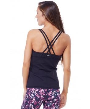 Rese Activewear Black Melanie Tank