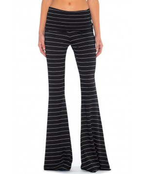 Saint Grace French Jersey Striped Ashby Flare Pant
