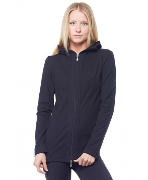Sandra McCray Long Hooded Jacket