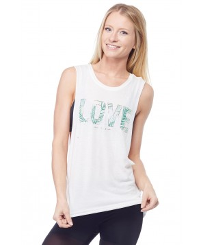 Spiritual Gangster Palm Love Coachella Tank