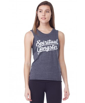 Spiritual Gangster Logo Burnout Coachella Tank