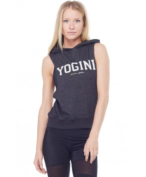 Spiritual Gangster Yogini Hooded Muscle Sweatshirt