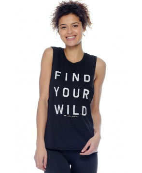 Spiritual Gangster Find Your Wild Festival Tank