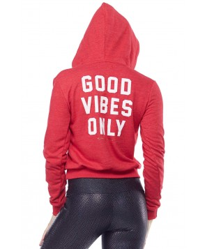 Spiritual Gangster Good Vibes Only Pullover Hoodie