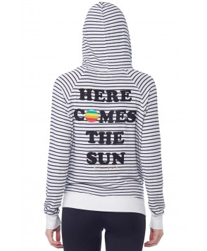 Spiritual Gangster Here Comes The Sun Zip Hoodie