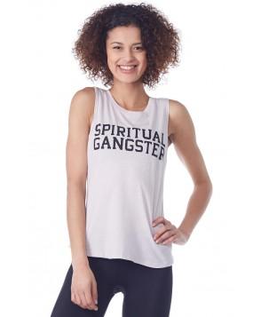 Spiritual Gangster Varsity Logo Muscle Tank