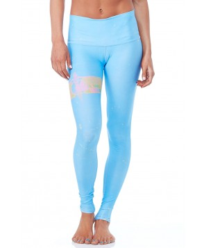 Teeki Rainbow Priestess Blue Hot Pant